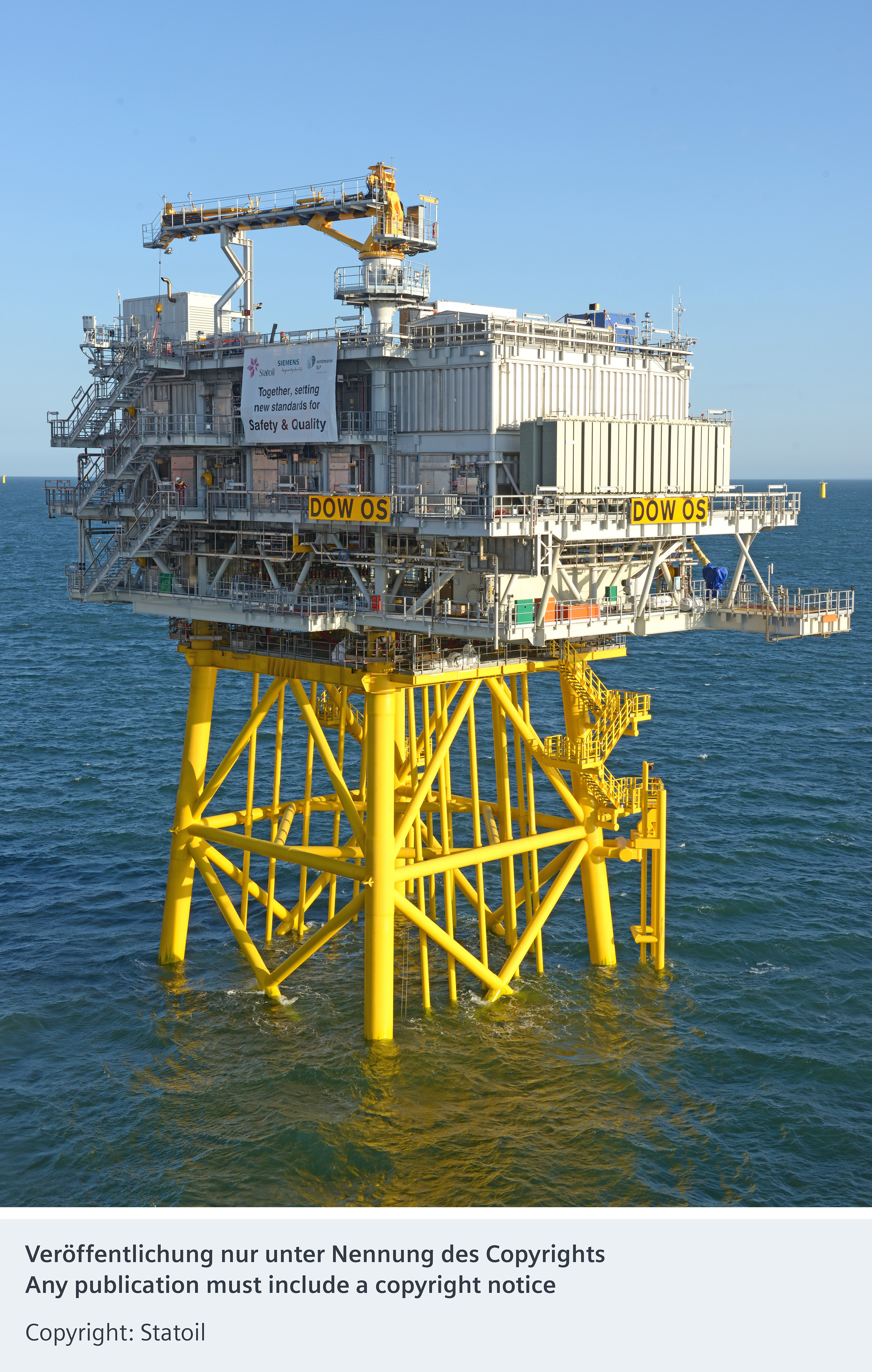 Photo Story: Siemens successfully installs offshore grid