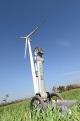 HighStep rüstet bestehende Windkraftanlagen mit tragbaren Liften aus