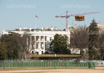 "Greenpeace Activists Safely Return to Ground After Deploying Giant ""RESIST"" Banner Above White House"