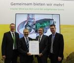 Zertifizierte Sicherheit für elektrisches Pitchsystem von SSB Wind Systems