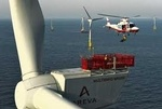 UK - Global Tech I offshore wind power project, powered with AREVA M5000 wind turbines