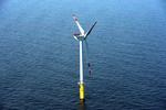 AREVA Windrad-Prototyp liefert Strom