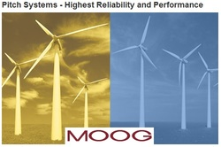MOOG obtains TÜV Rheinland Certification for safety-critical blade feathering on wind turbines