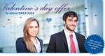 EWEA 2014: The joy of giving on Valentine's Day just got better!