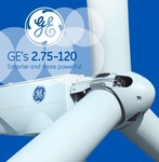 General Electric supplies China's Huaneng Corp. with 55 GE 2.75-120 wind turbines