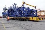 BLG transportiert über 600 Tonnen schweres Zubehör für Installationsschiff MPI Enterprise