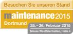 """PRECITORC auf der """"maintenance Dortmund 2015"""""""