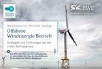 """BWE Konferenz zum Thema """"Offshore Windenergie Betrieb"""""""