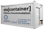 ELA Container Offshore GmbH auf der ADIPEC 2015 in Abu Dhabi