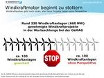Österreich: Windkraftmotor beginnt zu stottern