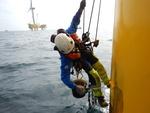 Reparaturen auf hoher See - Robuster Rostschutz für Offshore-Windräder