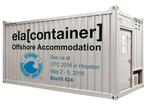US: ELA Container Offshore GmbH at the OTC 2016 in Houston