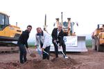 Spatenstich zum Baustart: WSB errichtet 14,4 MW-Windpark Wipperdorf