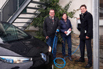 Enser Versicherungskontor eröffnet neue Ladesäule für E-Autos mit sauberem Sonnen-Strom