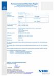 Komponentenzertifizierung des EZA-Reglers für ee technik