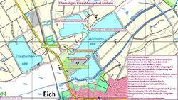 Die Neugestaltung des Altrheinsees ist eine Kompensationsmaßnahme für den Eingriff in Natur- und Landschaftsbild, der beim Bau von Windrädern im Landkreis Alzey-Worms entstanden ist. (Foto: juwi)