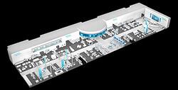 """Unter dem Motto """"Discover the value of the Digital Enterprise"""" bietet Siemens auf der Hannover Messe vom 24. bis 28. April 2017 auf 3.500 Quadratmetern einen Überblick über das umfassende Portfolio für Kunden aus der Industrie."""