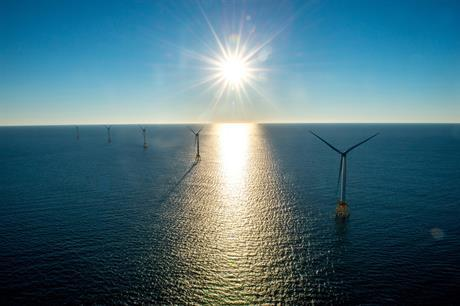 First - and so far only - US Offshore Wind Farm Block Island (Image: Deepwater Wind)