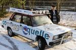 Energiequelle-Mitarbeiter fährt für Hilfsprojekt mit dem Lada durch die Wüste