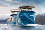Naming new wind farm vessel of Bernhard Schulte for Siemens