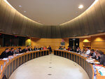Giles Dickson speaks at the European Parliament about the revised Renewable Energy Directive