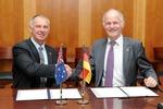 Deutschland und Australien gründen eine bilaterale Arbeitsgruppe zu Energie und Rohstoffen