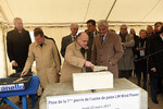 LM Wind Power lays first stone at Cherbourg blade factory