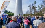 500 Besucher besichtigten Windpark-Baustelle im Nonnenholz