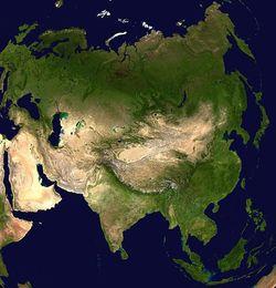 Asia (Image: NASA)