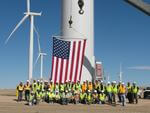 Wind adds jobs over 9 times faster than the overall economy
