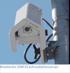 Lufft bringt laserbasierten Schneehöhensensor SHM31 auf den Markt