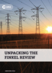 Unpacking the Finkel Review