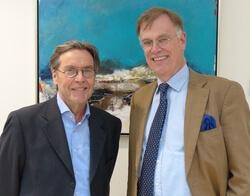Uwe Thomas Carstensen + Dr. Jörn Buddenberg (Bild: EWE/TurboWind)
