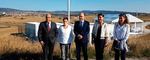 ACCIONA opens the first plant with storage of wind energy using batteries in Spain, in the region of Navarra