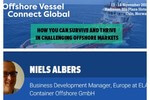 ELA Container Offshore to participate at Offshore Vessel Connect Global in Oslo