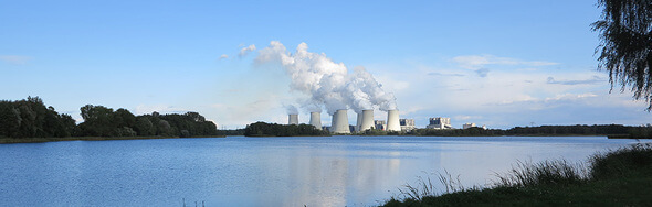 Das Kohlekraftwerk Jenschwalde gehört zu den dreckigsten in Europa. (Bild: NABU)