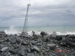 Aircon 10 S WKA ohne Schäden durch Cyclon Gonu im Persischen Golf