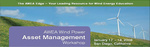 AWEA Wind Power Asset Management Workshop