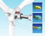 Modular aufgebaute Rotorverriegelungen für On- und Offshore-Windkraftanlagen