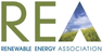Logo Renewable Energy Association (REA)