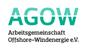 Logo Arbeitsgemeinschaft Offshore-Windenergie e.V. (AGOW)