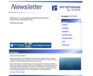 Windmess-Newsletter-Letzte Ausgabe