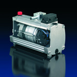 Kompaktes Pumpenaggregat für Hydraulik-Steuerung in Windenergieanlage