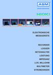 ASM Automation Sensorik Messtechnik GmbH: Neuer Gesamtkatalog: Elektronische Messgeräte von HIOKI