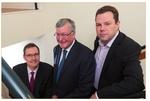 Schottischer Energieminister eröffnet neues ABO Wind-Büro in Inverness