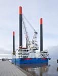 Windenergie News: Hubinsel THOR am Hannoverkai