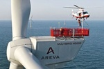 Areva Wind installs First turbines at Borkum West 2 in Germany