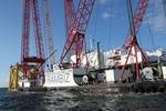 Bauüberwachung für Umspannstation im Offshore-Windpark