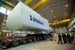Vestas: First V164-8.0 MW nacelle completed