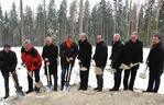 Ostwind: Bau des neuen Wald-Windparks schreitet voran